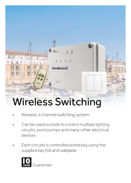 Hamilton Air Wireless Switching System