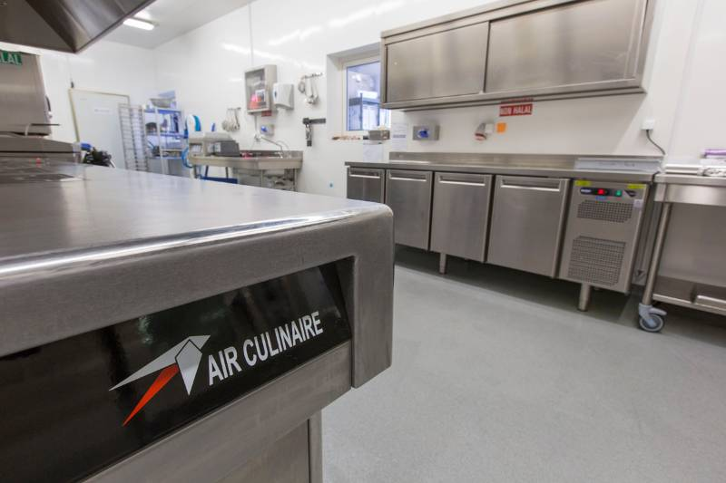 Air Culinaire Worldwide benefits from Altro kitchen solution