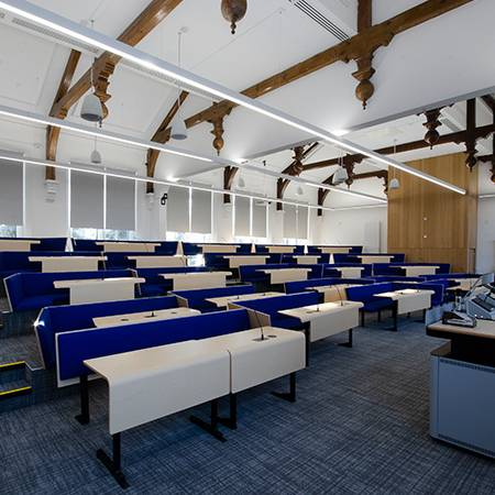 Collaborative Bench Seating at Aberdeen University