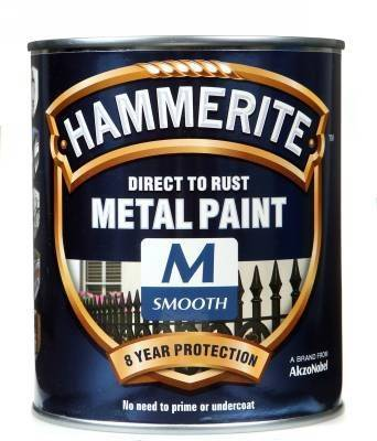 Direct to Rust Metal Paint Smooth Finish