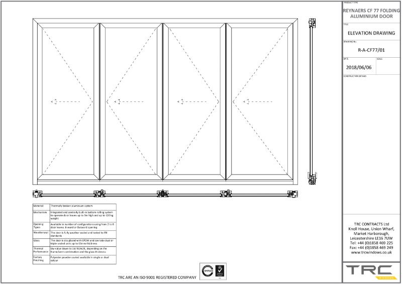 Reynaers CF77 Folding Doors