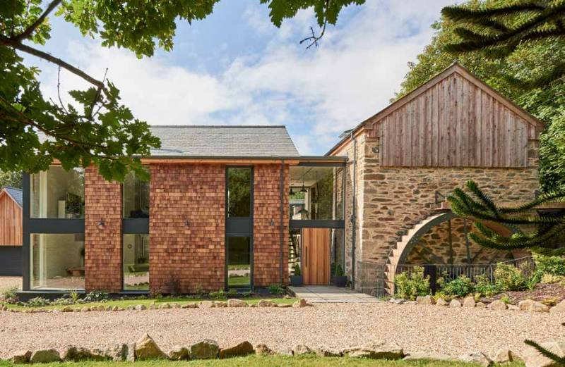 Stunning Mill House Extension, Cornwall
