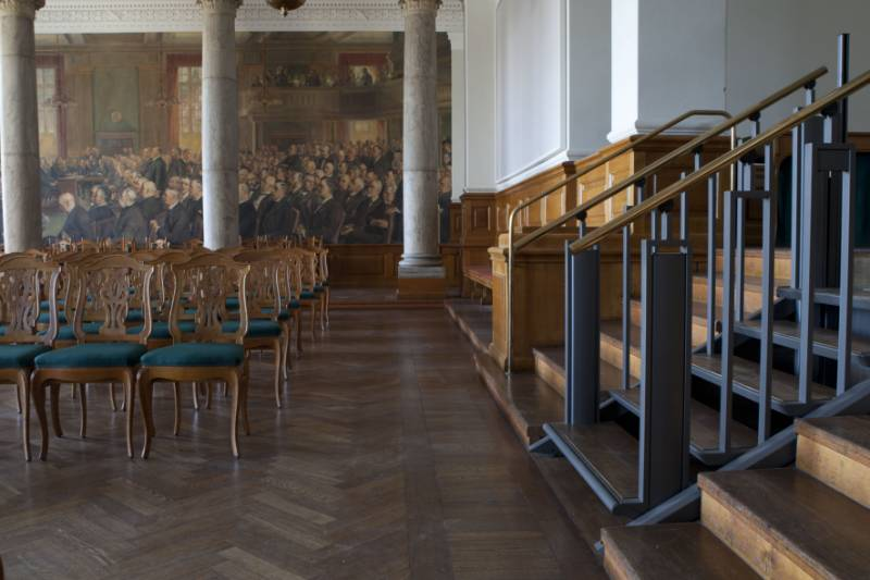 FlexStep in the Danish Parliament (Christiansborg Palace)