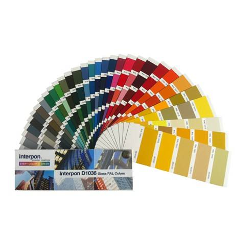 Powder Coating - Interpon D1036 RAL - Gloss