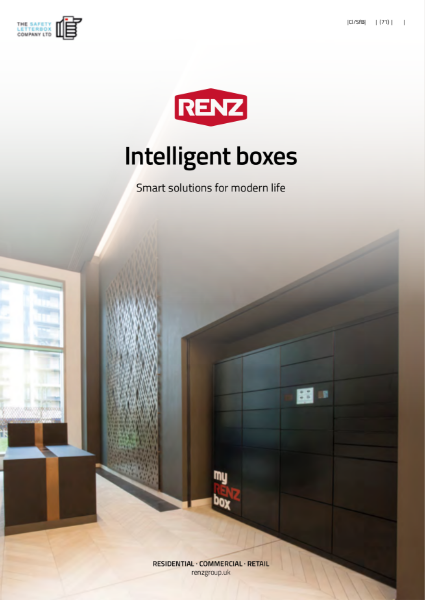 myRENZbox Intelligent Parcel Boxes - Smart delivery solutions brought to you by The Safety Letterbox Company