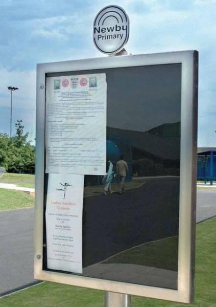 Ollerton M3 A1 Notice Board