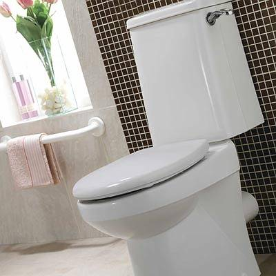 Avalon: Close Coupled Rimfree Seat & Cover - WC suites