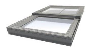 RG-80-20 24 V Sliding Flat Glass Rooflight