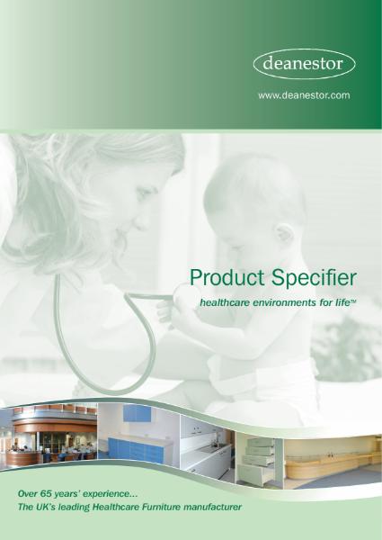 Deanestor Healthcare Furniture Specifier