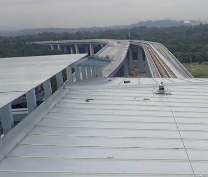 Mass Rapid Transit: Fall Protection System Required for Rooftop
