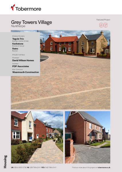 Featured project -  Grey Towers Village, Nunthorpe