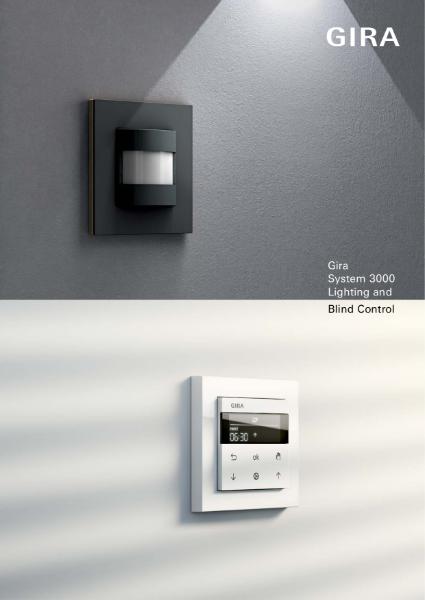 Gira System 3000 Lighting, Blind and Heating via Bluetooth