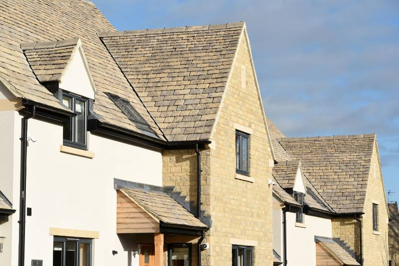Aggregate Industries supplies portfolio of building products to Cotswold development