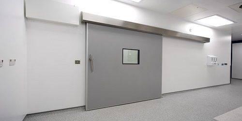 Hermetically Sealing Sliding Door