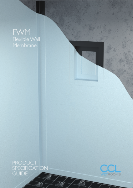Waterproofing Wet Room Walls - FWM (Flexible Wall Membrane)