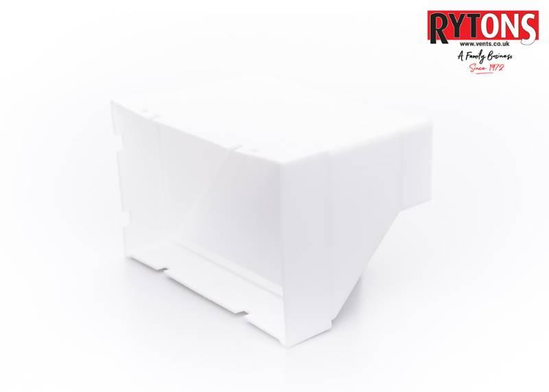 RD51MFAB2 - Rytons Double Air Brick Adaptor (204 x 60 mm)