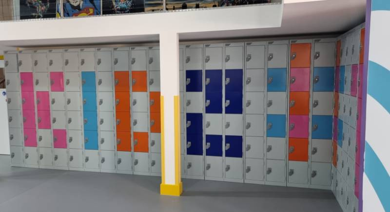 Kidz#1 Essential Metal Lockers Project