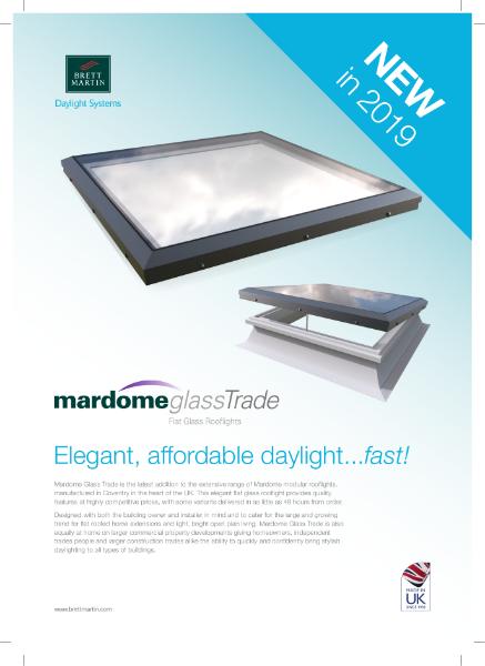 Mardome Glass Trade Rooflight