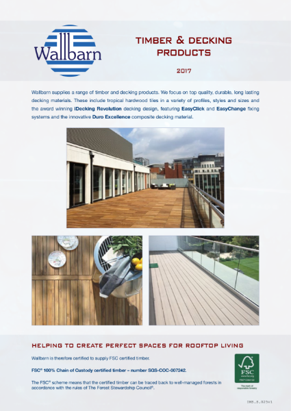 Decking & Timber Products