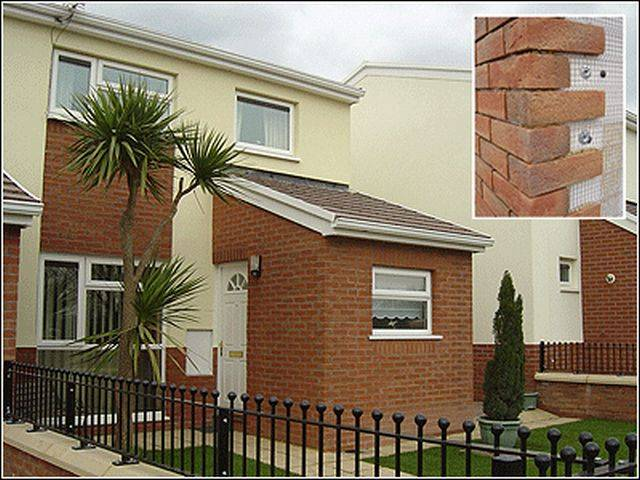 WBS 15 mm Brick Slip Cladding Systems