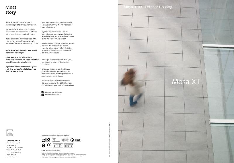14. Mosa XT Collection - Exterior flooring
