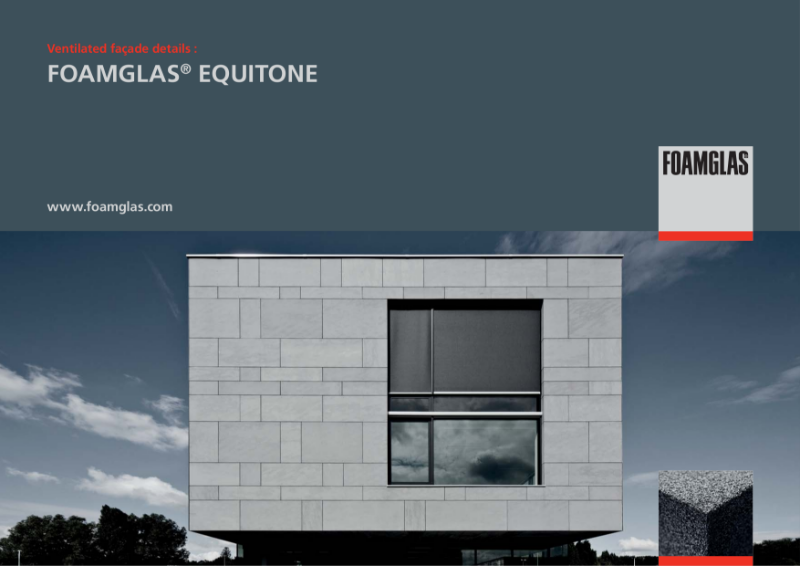 FOAMGLAS Insulation for Rainscreen Facades