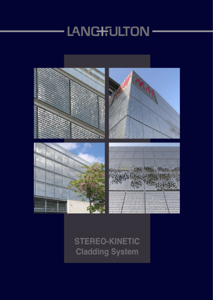 Stereo Kinetic Wall Cladding
