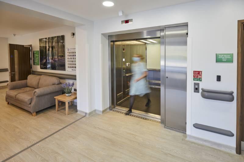 Stannah Passenger Lift for Hospice Extension