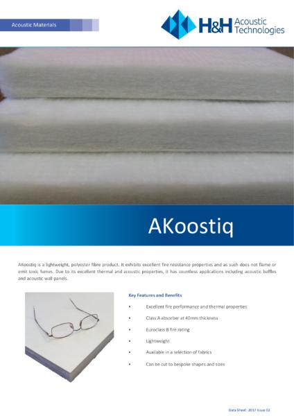 AKoostiq Polyester Panels