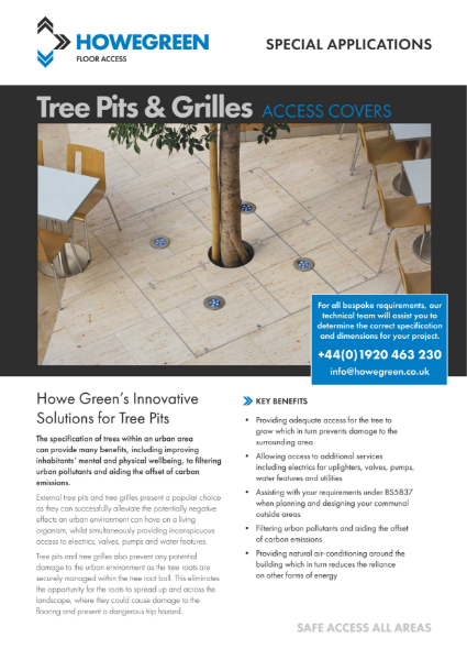 Howe Green Tree Pits and Tree Grilles