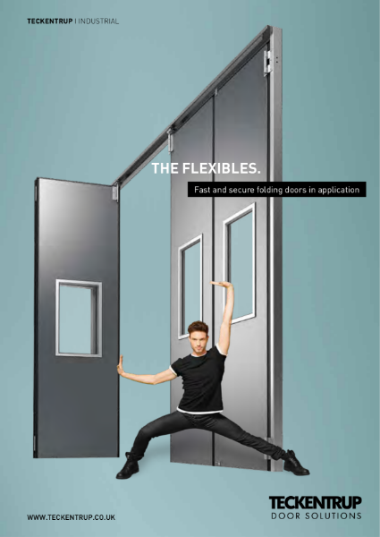 Teckentrup Insulated Sliding Folding Doors Manual and Powered