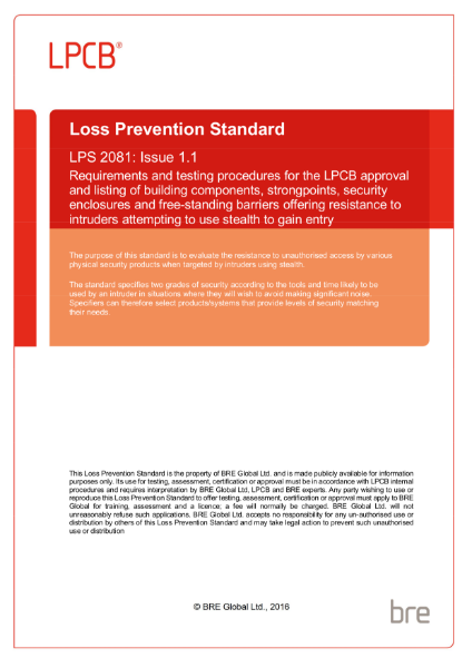 Loss Prevention Standard