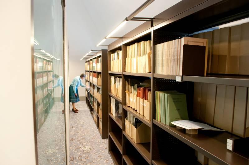 Bruynzeel Museum storage: The Bowes Museum