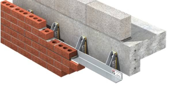 IG Welded Masonry Support System - WMS Cavity Closer