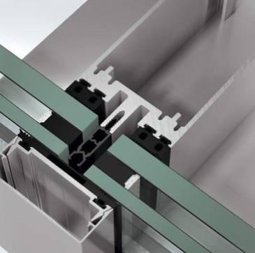 Aluminium sliding door system - ASE 60