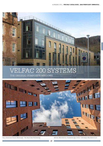 VELFAC 200 Composite Window System Product Catalogue