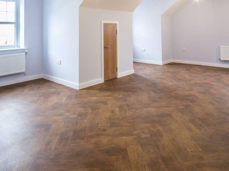 Polyflor flooring helps create stunning new homes in Bridgend