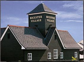 Tegola on Bicester Village