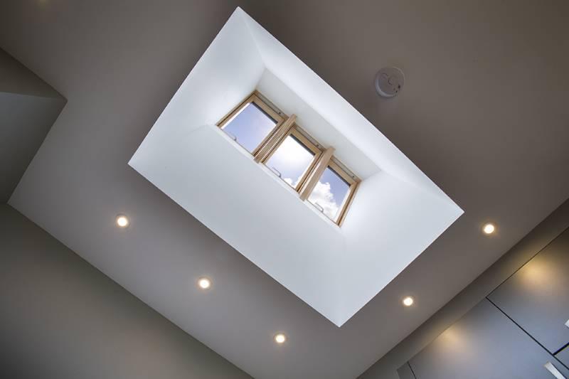 FAKRO roof windows for bespoke SIPS house design