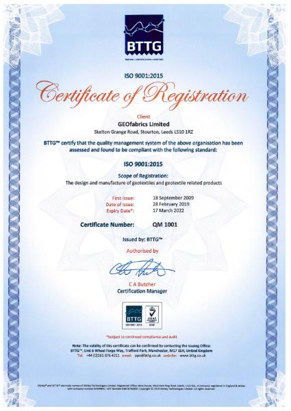 ISO 9001 - QM 1001