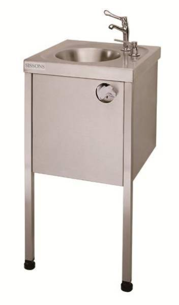 Food handler's hand washbasin
