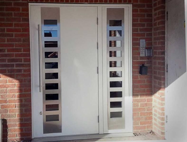 Steel Doors AD40 Armourdoor Communal Entrance