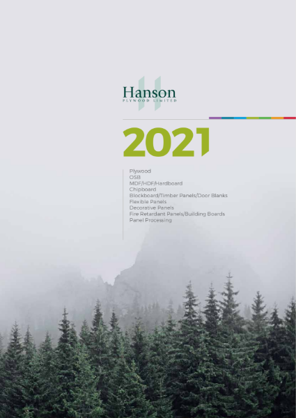 Hanson Plywood 2021 Brochure