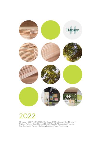 Hanson Plywood 2022 Brochure