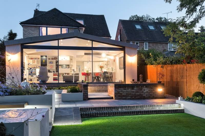 Sandpit Lane | Stylish modern extension to suburban detached home - St Albans, Hertfordshire