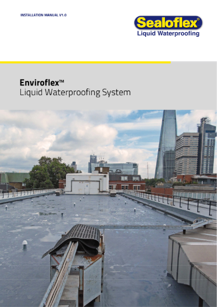 Icopal Enviroflex Liquid Applied Roof Waterproofing System Application Manual