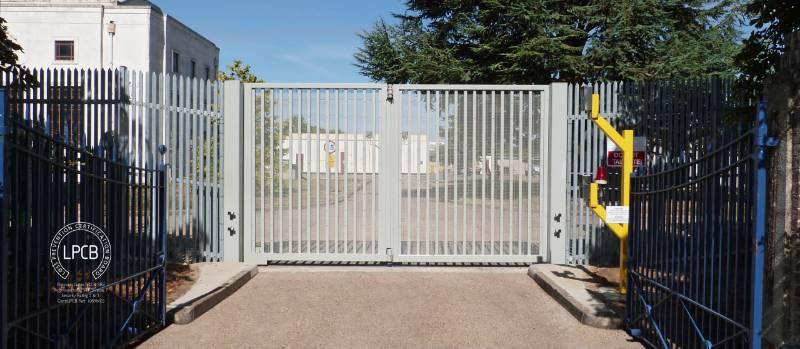 LPS 1175 Platinum Bi-folding Gates, Secured by Design