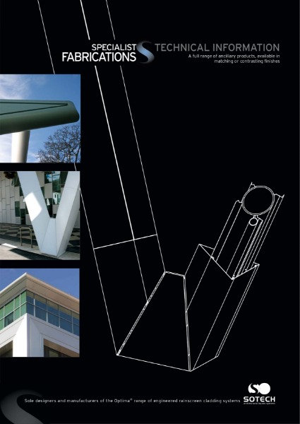Sotech Specialist Fabrications - A Full Range Of Ancillary Products Including Gutters Bullnose And Coping