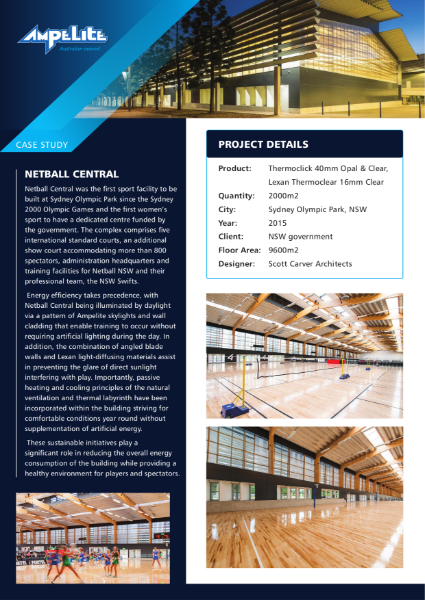 Case Study - Netball Central
