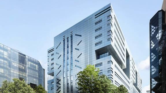 Bespoke riser doors for London's new financial centre.